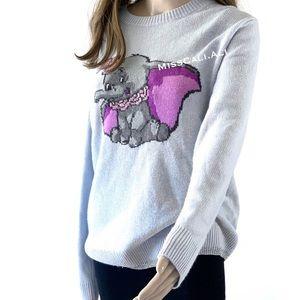 NWT COACH X Disney Dumbo Intarsia Wool Sweater